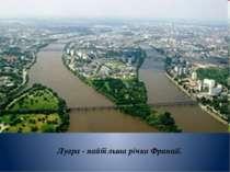 Луара - найбільша річка Франції.