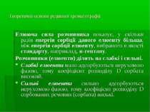 Теоретичні основи рідинної хроматографії Елююча сила розчинника показує, у ск...