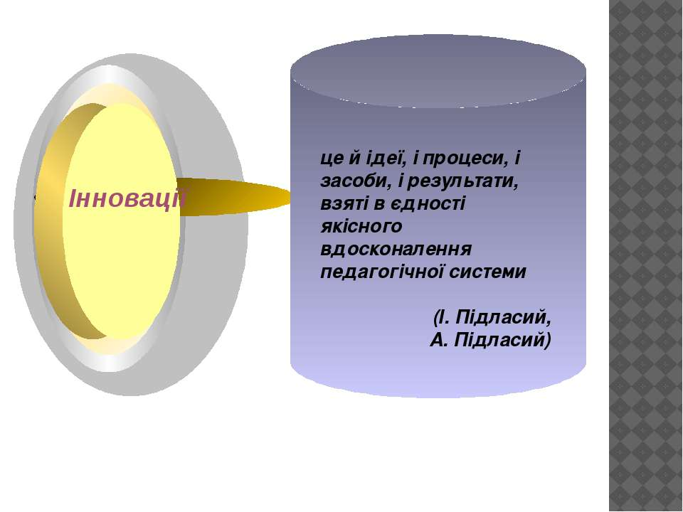 це й ідеї, і процеси, і засоби, і результати, взяті в єдності якісного вдоско...