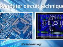 Computer circuit technique It's interesting!