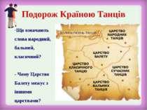 Що означають слова народний, бальний, класичний? - Чому Царство Балету межує ...