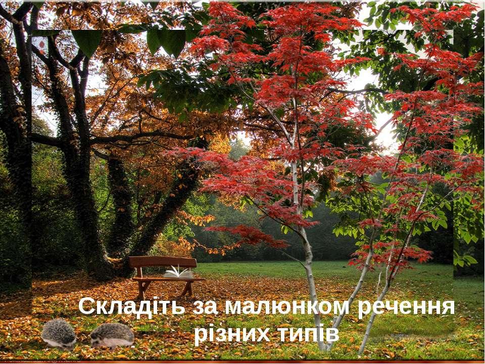 Складіть за малюнком речення різних типів FokinaLida.75@mail.ru