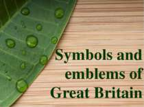 Symbols and emblems of Great Britain