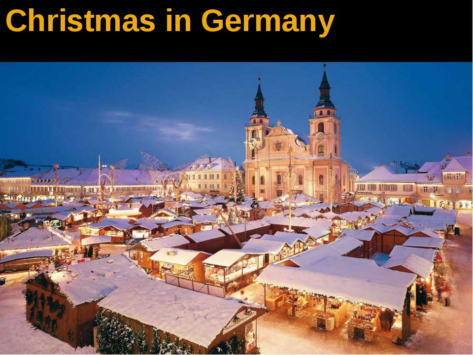 Christmas in Germanу