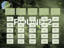 ROUND 2 Sport and transport Education Politics Australia Grammar 200 400 600 ...
