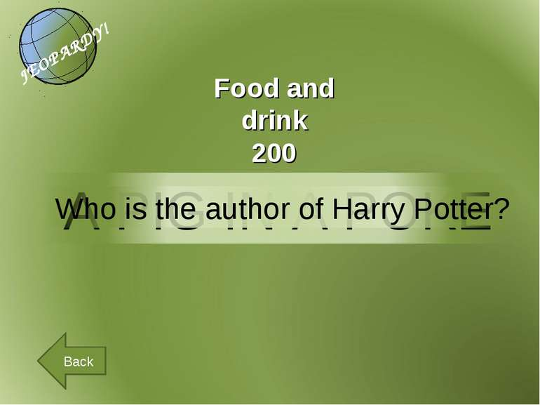 Back Food and drink 200