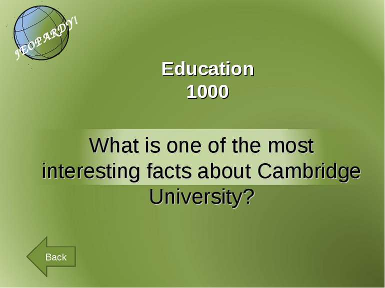Education 1000 Back