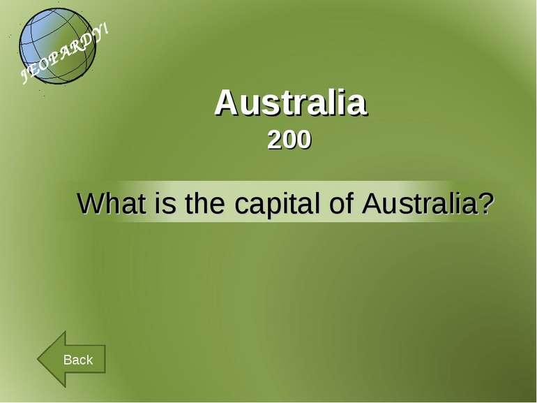 Australia 200 Back