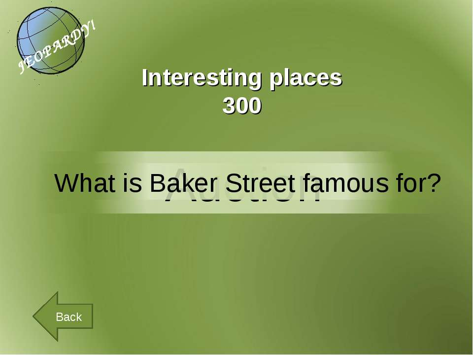 Back Interesting places 300