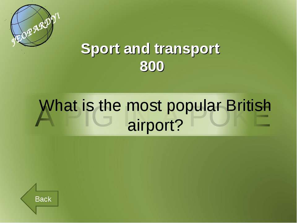 Back Sport and transport 800