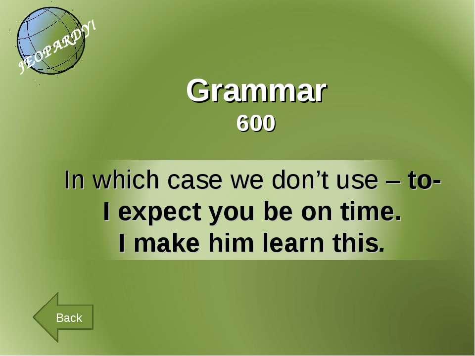 Grammar 600 Back