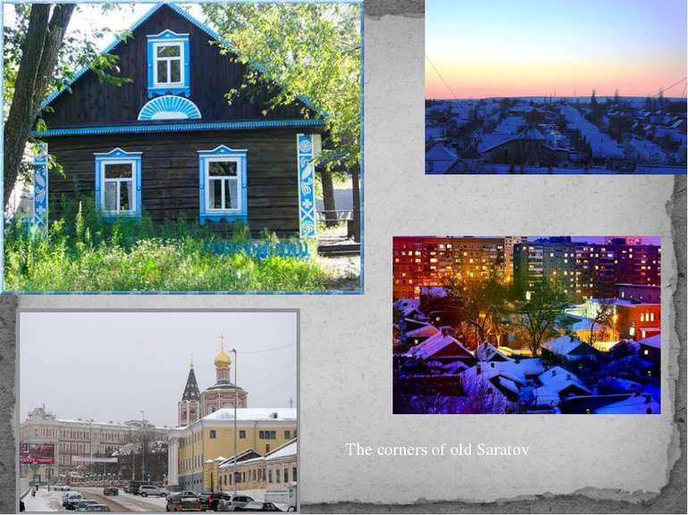 The corners of old Saratov