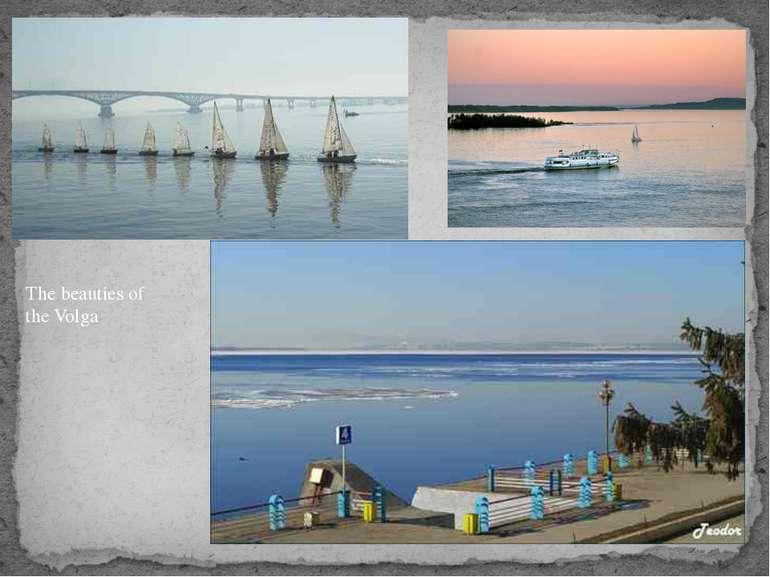 The beauties of the Volga