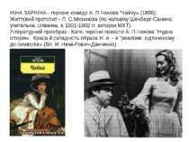 """НІНА ЗАРІЧНА - героїня комедії А. П.Чехова """"Чайку» (1896). Життєвий прототип ..."""