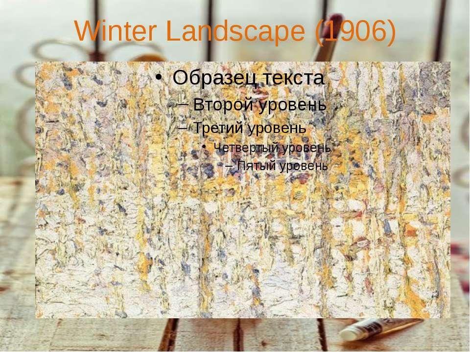 Winter Landscape (1906)
