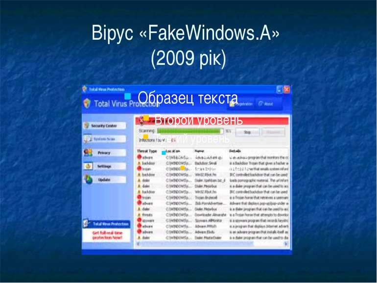 Вірус «FakeWindows.A» (2009 рік)