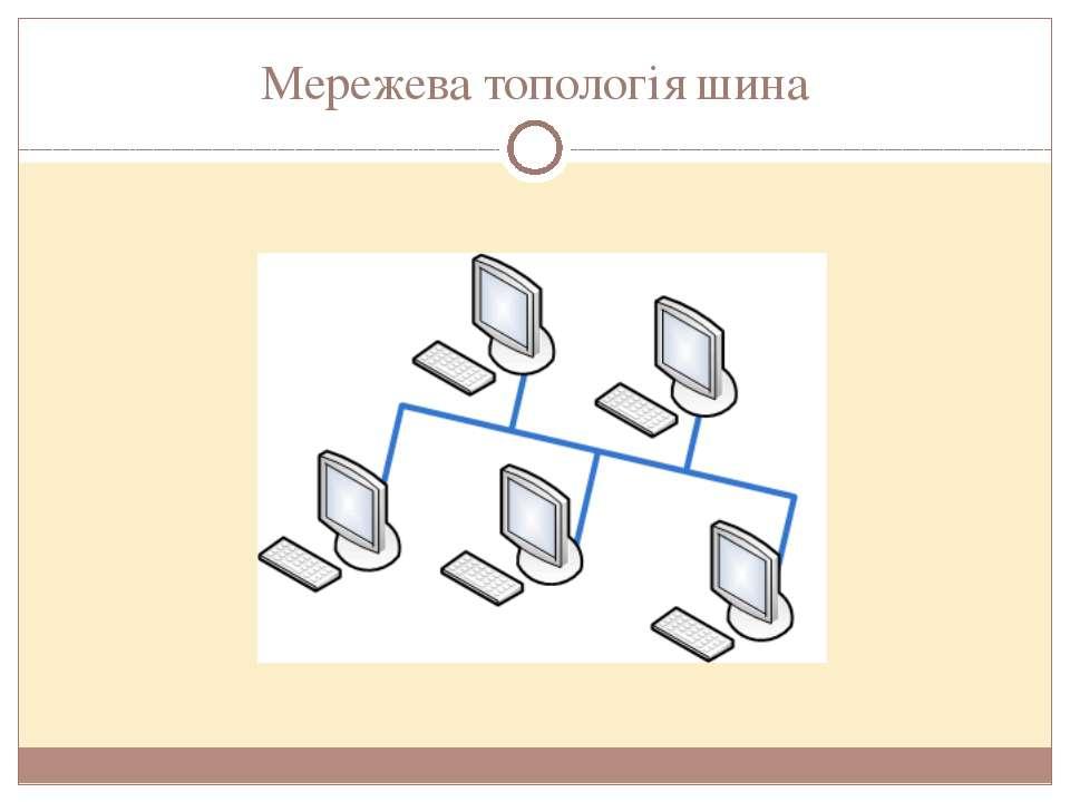 Мережева топологія шина