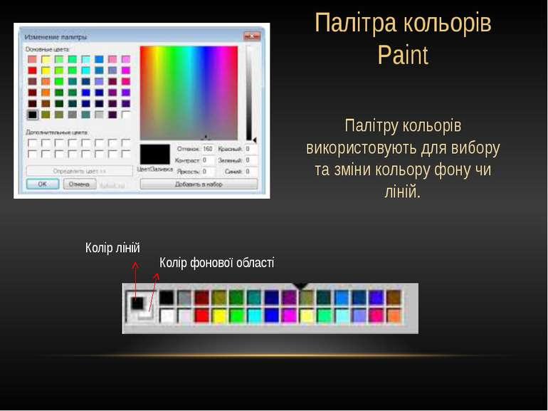 Гумка(ластик) Використовується для стирання частин малюнка. Можна змінювати р...