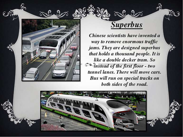 Chinese scientists have invented a way to remove enormous traffic jams. They ...