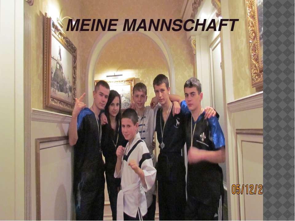 MEINE MANNSCHAFT