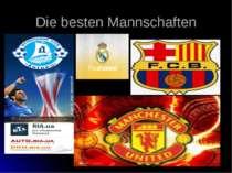 Die besten Mannschaften