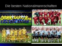 Die besten Nationalmannschaften