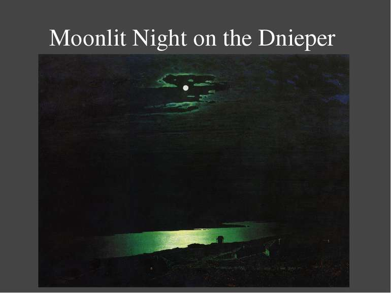 Moonlit Night on the Dnieper