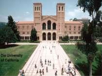 Die University of Califonia