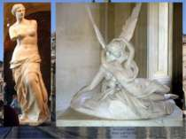 Griechische Antike: Venus von Milo, um 100 v. Chr. Antonio Canova: AmorundP...