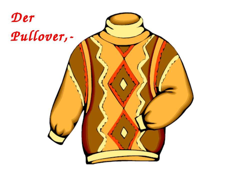 Der Pullover,-