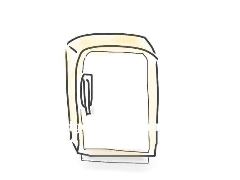 fridge - холодильник