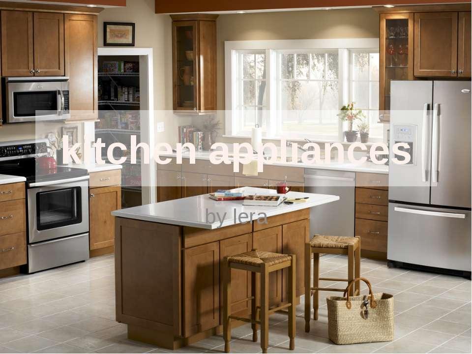 kitchen appliances by lera