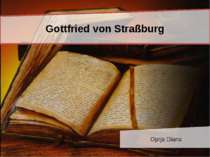 Gottfried von Straßburg Oprja Diana