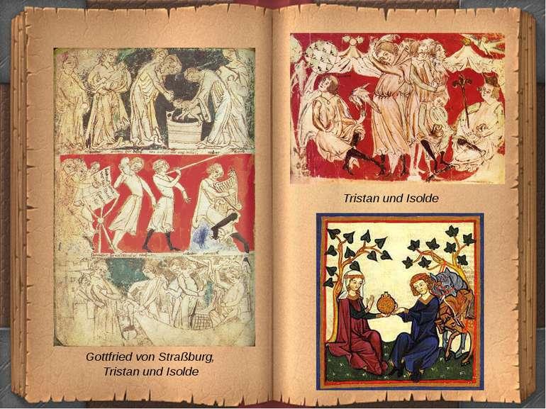 Gottfried von Straßburg, Tristan und Isolde Tristan und Isolde