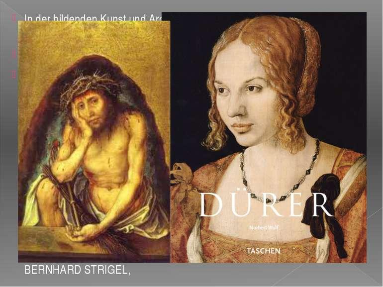 In der bildenden Kunst und Architektur wirkten folgende Künstler in der Epoch...