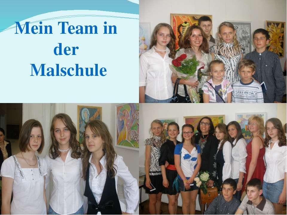 Mein Team in der Malschule
