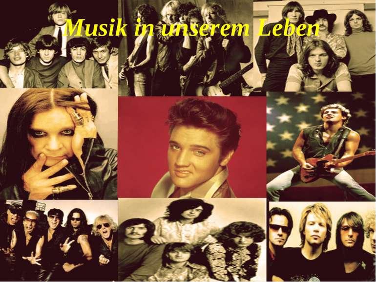 Musik in unserem Leben