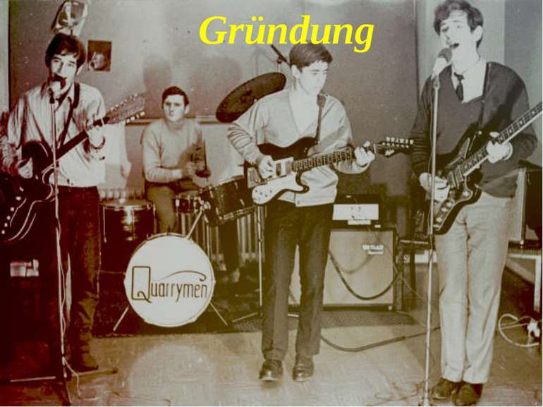 The Quarrymen Gründung