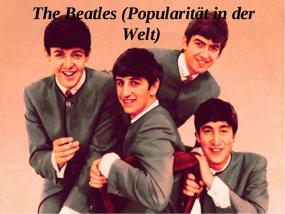 The Beatles (Popularität in der Welt)