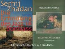 Ukrainische Bücher auf Deutsch
