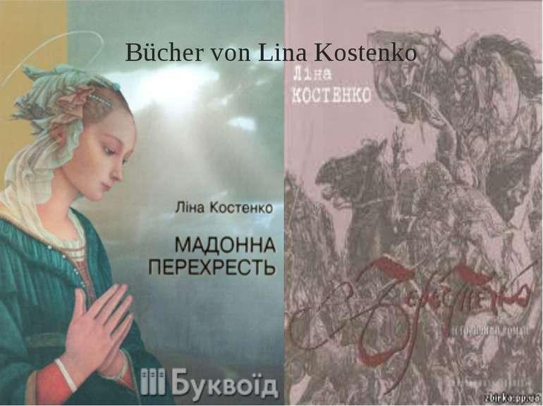 Bücher von Lina Kostenko