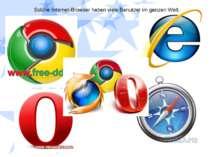 Solche Internet-Browser haben viele Benutzer im ganzen Welt.