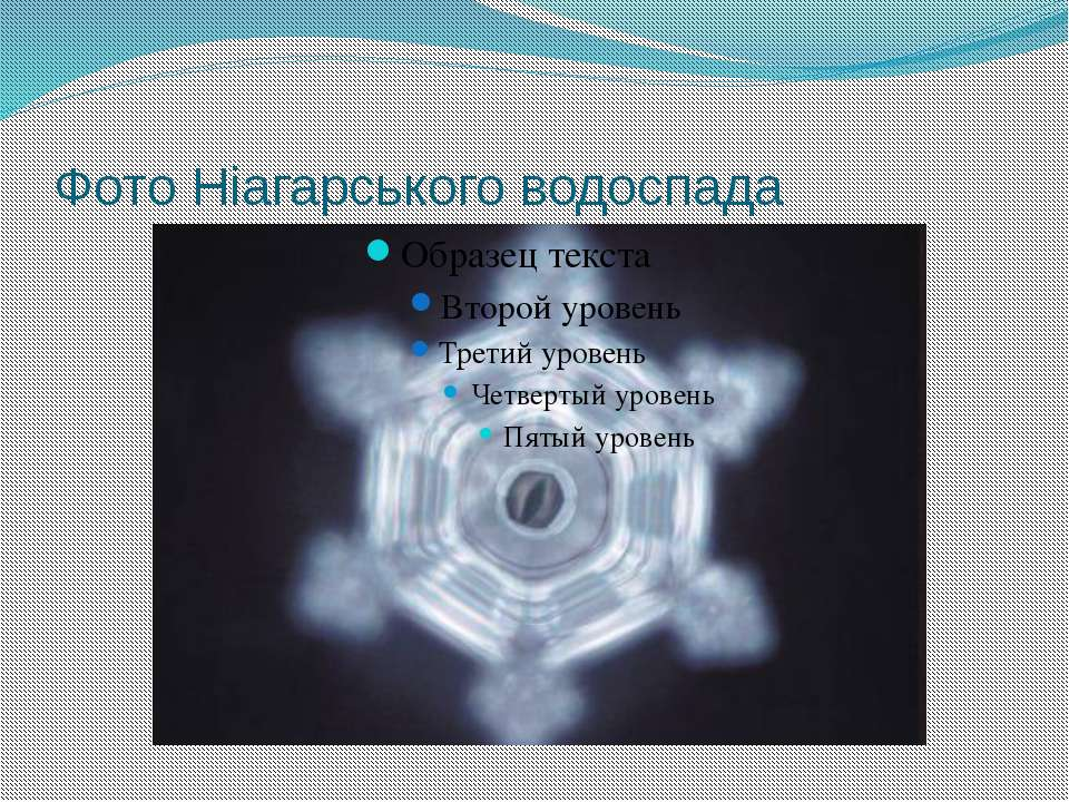 Фото Ніагарського водоспада