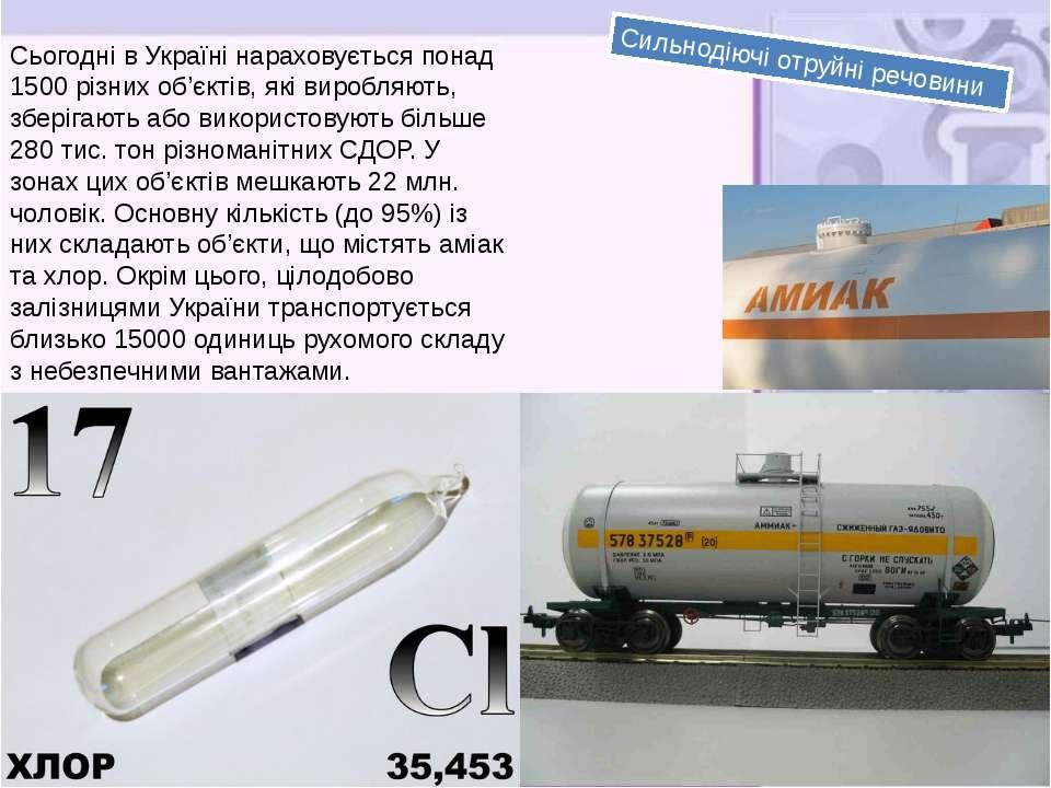 Сьогодні в Україні нараховується понад 1500 різних об'єктів, які виробляють, ...