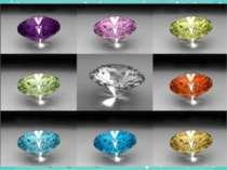 Алмаз— найтвердіша речовина серед усіх відомих, навіть міцніша заобсидіан. ...