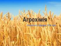 Агрохімія Розмаїтого Дмитра, 10-А клас