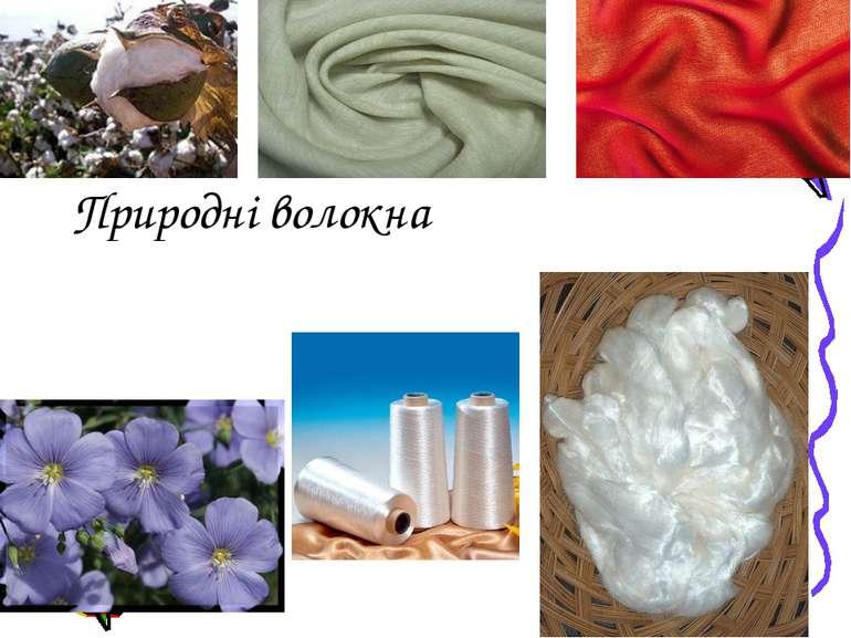 Природні волокна