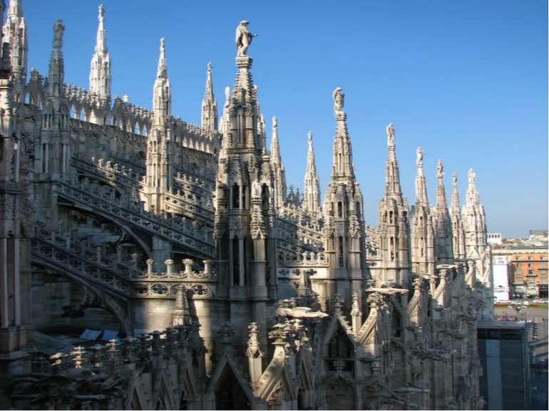 Миланский (итал. Duomo di Milano) кафедральный собор Дуомо Строительство нача...