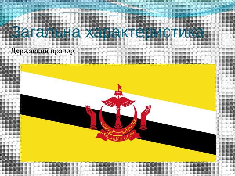 Загальна характеристика Державний прапор