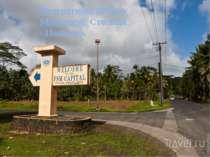 Федеративні Штати Мікронезії. Столиця -Паликир.